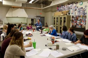 AZSDA Greener Indigo Workshop Workshop with Barbara Shapiro at ASU March 2016