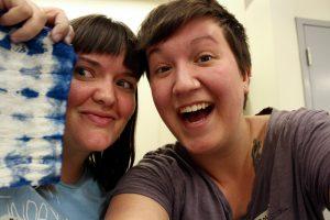AZSDA Workshop Coordinators Madison Creech and Molly Koehn,